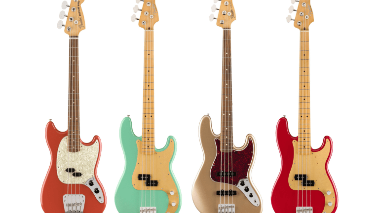 Fender Announces New Vintage-Inspired Vintera Series Basses