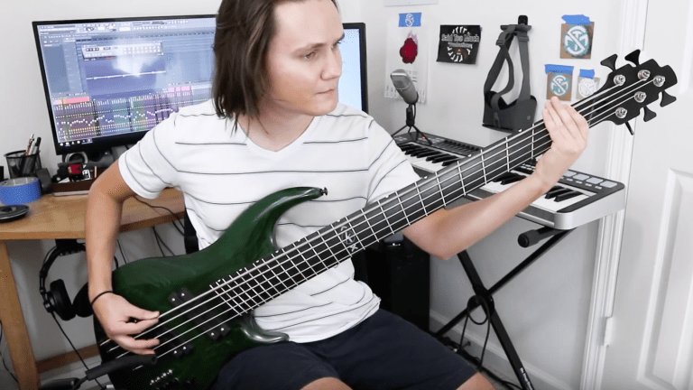 Watch Kevin Monn's Review of The 40' Scale Kalium Quake Bass (Video)