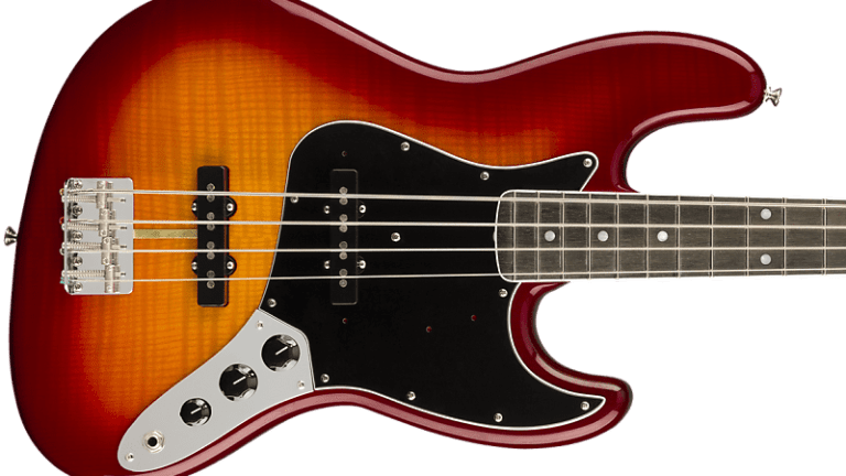 Fender Debuts New Limited Edition Rarities Flame Ash Top Jazz Bass