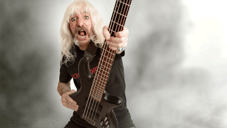 "Derek Smalls of Spinal Tap Releases New Video For Single, ""Give Me More Money"""