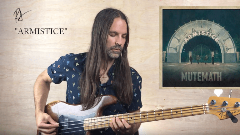"Watch Roy Mitchell-Cárdenas' Bass Breakdown of MuteMath's ""Armistice"""