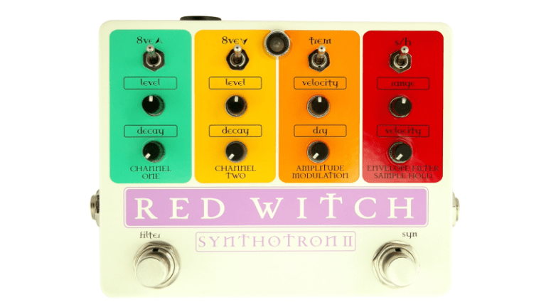 Red Witch Announces New Synthotron II Pedal