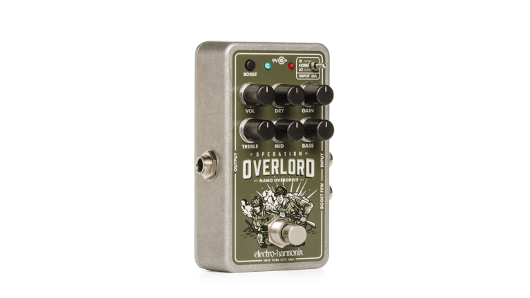 Electro-Harmonix Releases Nano Operation Overlord Overdrive