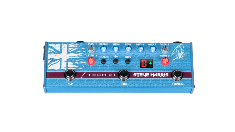 Tech 21 Introduces Steve Harris SH1 Signature SansAmp