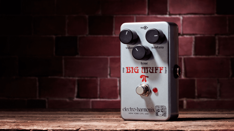 Electro-Harmonix Re-Releases 1973 V2 Ram's Head Big Muff Pi