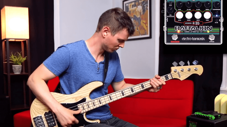 Watch Nathan Navarro Get Down with the EHX Battalion Pedal