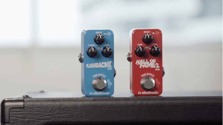 TC Electronic Introduces The Hall of Fame 2 Mini Reverb + Flashback 2 Mini Delay