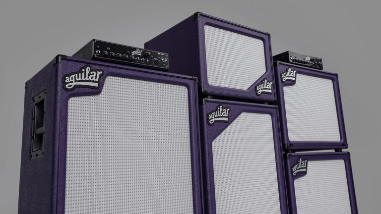 Aguilar Amplification Releases 2020 Limited Edition SL Royal Purple Cabinets