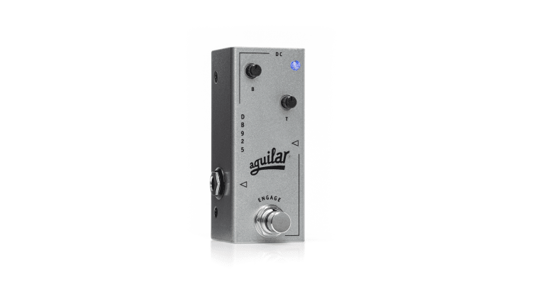 Aguilar Amplification Introduces Its First Micro Pedal - The DB 925 Bass Preamp
