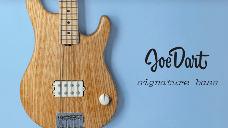 The Ernie Ball Music Man Joe Dart Signature Bass Returns