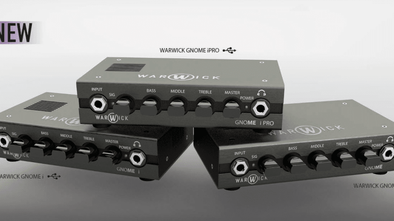 Warwick Announces New Gnome Bass Amp Heads