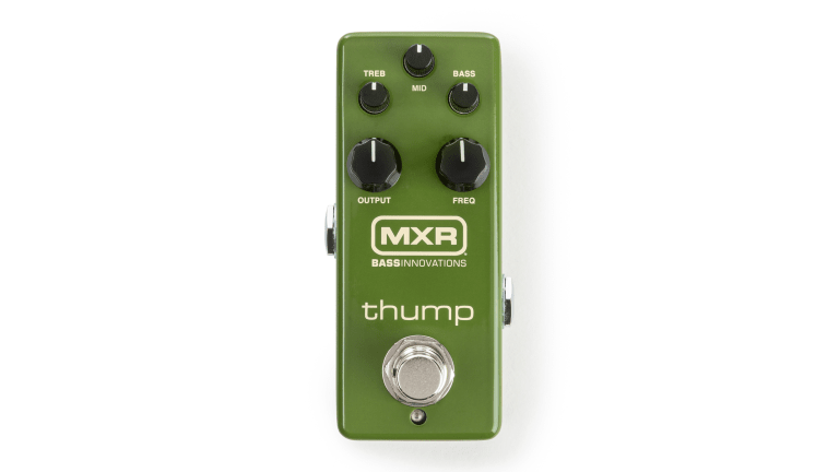 MXR Releases The Thump Bass Preamp