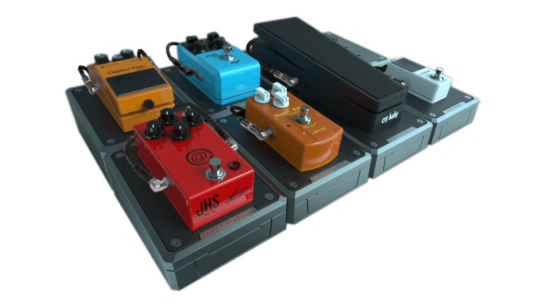 Pedal Pods Releases New Powered, Modular, Locking Pedalboard