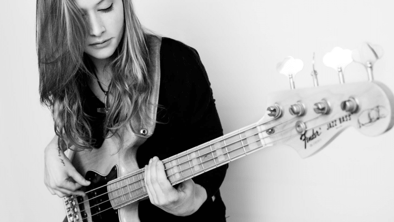 Nicole Row of Panic at the Disco Demos Her Fender American Performer Series Precision Bass (WATCH)