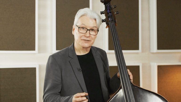 John Goldsby Offers Jazz Bass Volume 1: Building Up Online Bass Course