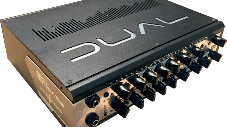 GR Bass Releases the DUAL800 & DUAL1400 Amplifiers