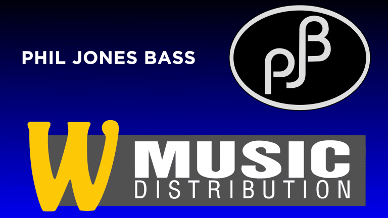 Phil Jones Bass Appoints W Music Distribution For E.U.