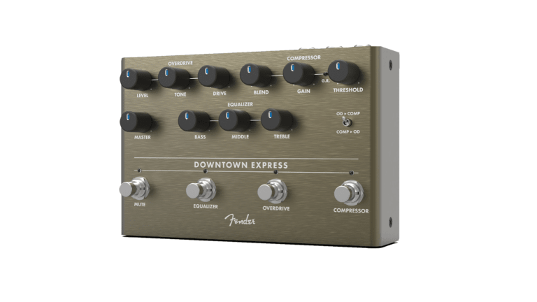 Fender Releases New Downtown Express Multi-Effects Pedal for Bass