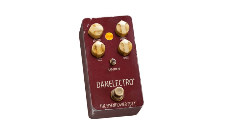 Danelectro Announces the Eisenhower Octave Fuzz Pedal