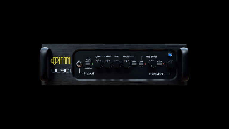 Epifani Releases the New UL 901 Bass Amp