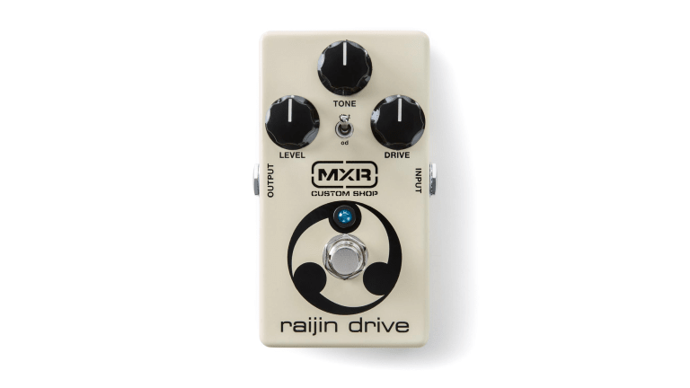 MXR Custom Shop to Release The New Raijin Drive