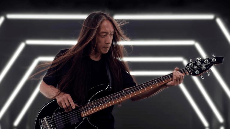 Music Man Announces The John Myung Signature Bongo Bass