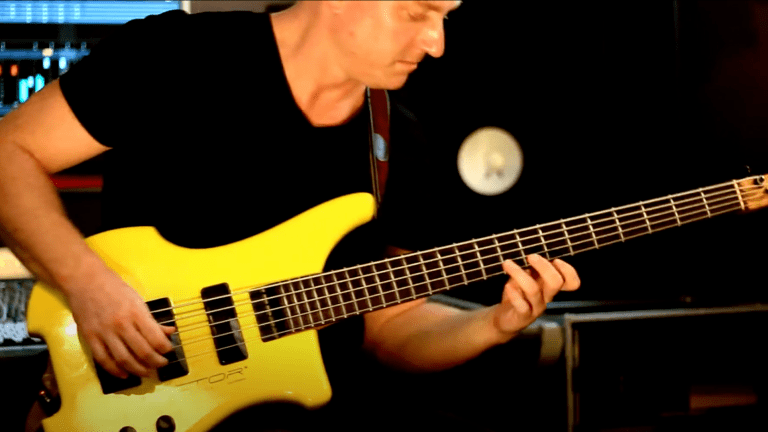 Watch Tristan Turner's Bass Playthrough of Abraham Sarache's 'Sentiment Analysis'