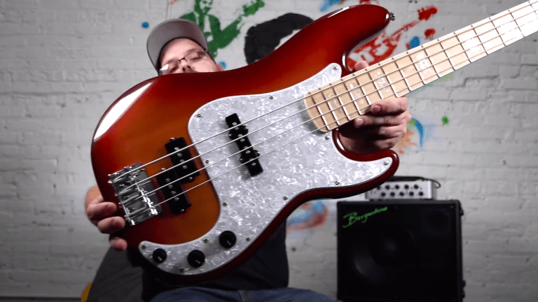 Video Review: The BITE Guitars Punch JP Precision Bass