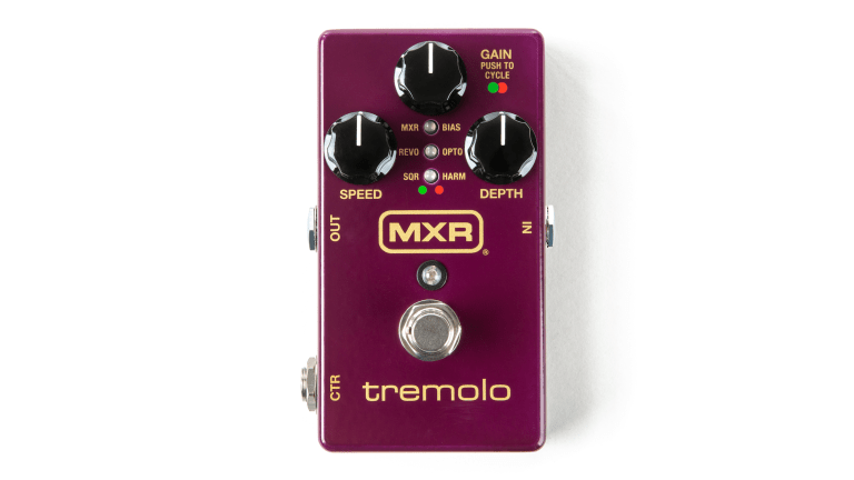 MXR Announces New Tremolo Pedal