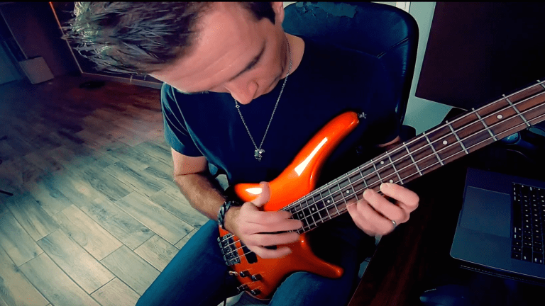 "Mark Grocki Releases All Bass Cover of DragonForce's ""Through the Fire and Flames"" (Watch)"
