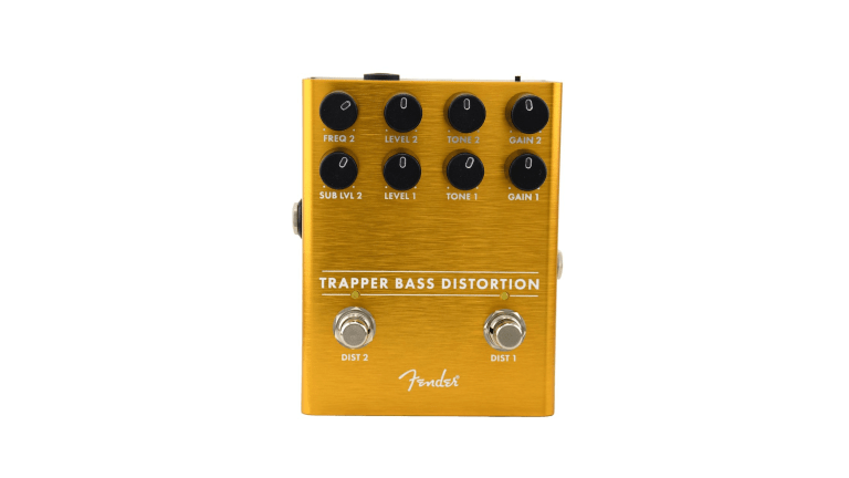 Fender Releases the Trapper Bass Distortion