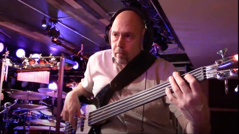"Bassist Larry Kornfeld takes on Curtis Mayfield's ""Pusherman"""