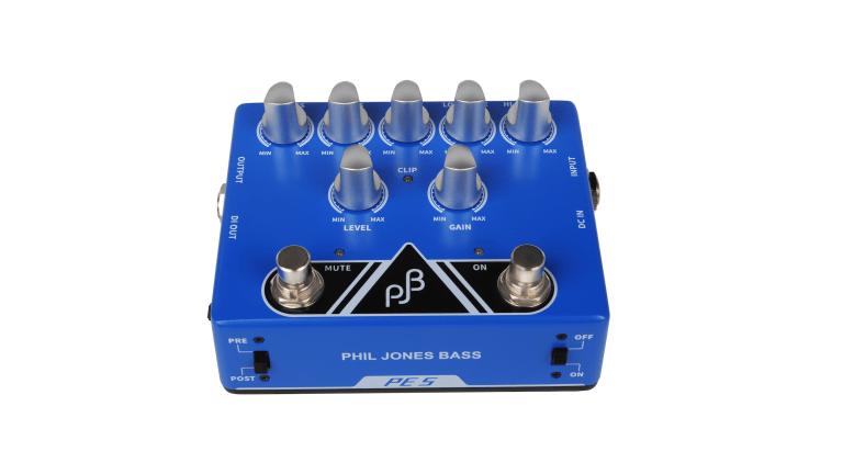 Phil Jones Bass Unveils PE-5 Multi Function Bass Pedal