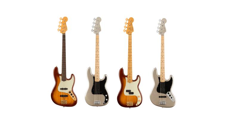 Fender Releases 75th Anniversary Diamond & Platinum Series Basses