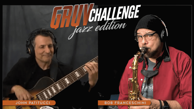 Gruv Gear Announces Jazz Challenge with John Patitucci And Bob Franceschini