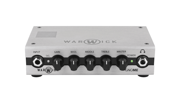 Warwick Releases Warwick Gnome Pocket Bass Amp Head