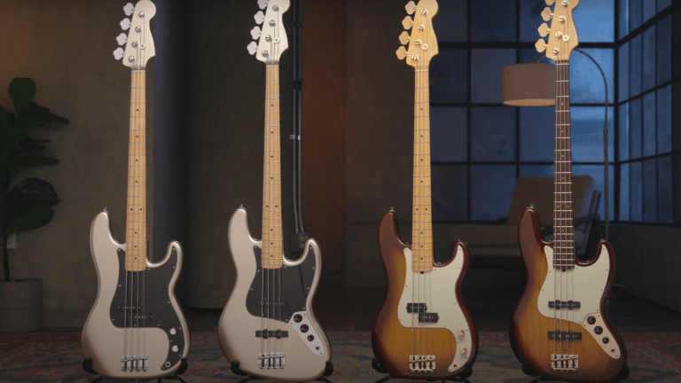 Fender Celebrates 75 Years With New Bass Models