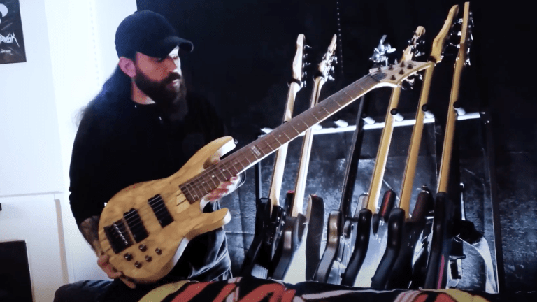 Tombs Bassist Drew Murphy Shows Off His Bass Collection In New Video