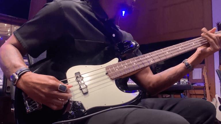 Raphael Saadiq Showcases His Fender American Professional II Jazz Bass
