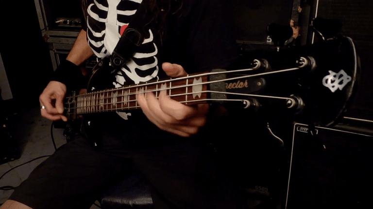 """Watch Anonymus Bassist Oscar Souto's Playthrough of """"Cada Loco Con Su Tema"""""""