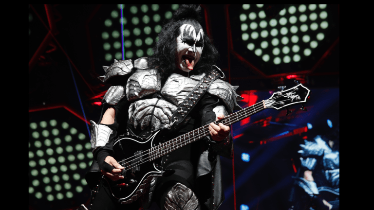 Gene Simmons: Kiss, Riffs, and His New Gibson Signature Bass
