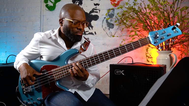 Watch Sharay Reed Perform Bach in Two Bass Parts From His New Album and Book