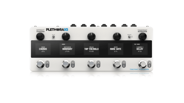 TC Electronic Introduces the Plethora X5 TonePrint Pedalboard