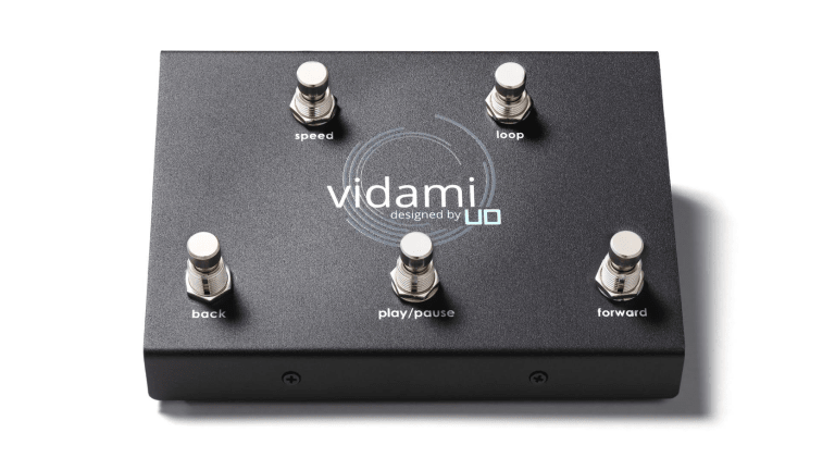 Utility Design Helps Players Learn Bass Online Hands-Free with New Vidami Foot Controller