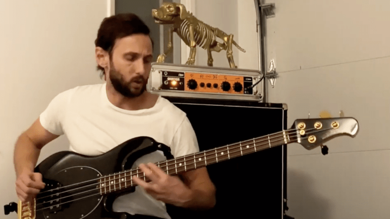 "Watch Matt Cohen of New Language's Bass Playthrough of ""No Time"""