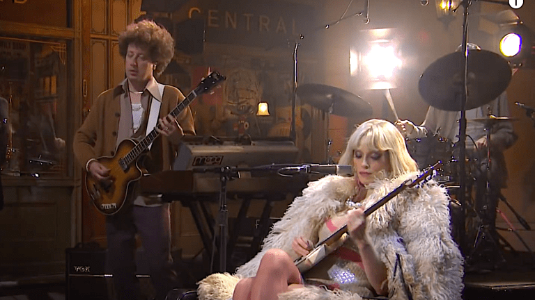 Watch Justin Meldal-Johnsen Perform On SNL With St. Vincent