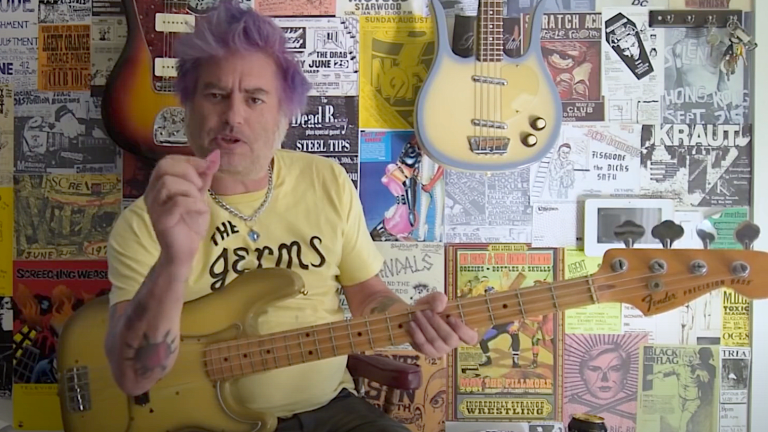 """Watch Fat Mike's Bass Playthrough of NOFX's """"Suits and Ladders"""""""