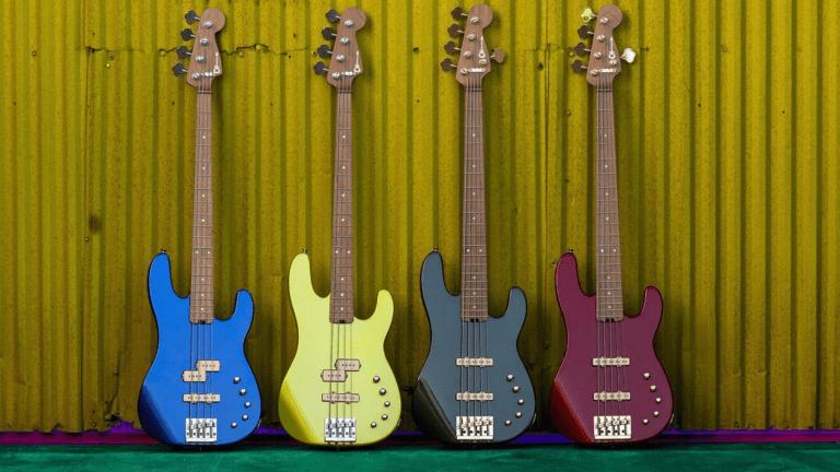 Charvel Releases the Pro-Mod San Dimas Bass Series