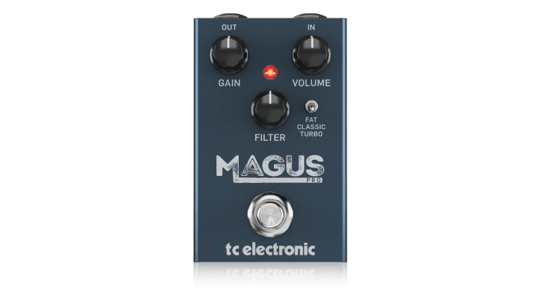 TC Electronic Releases the Magnus Pro Distortion/Overdrive Pedal