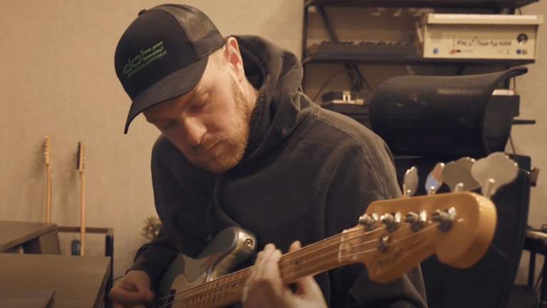 Kenny Beats Demonstrates His Fender American Professional II Precision Bass